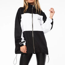 The Couture Club Casual Style Street Style Logo Jackets