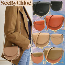 See by Chloe Casual Style 2WAY Elegant Style Crossbody Formal Style  Logo