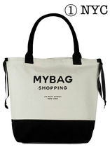 Bag all Casual Style Unisex Canvas A4 Purses Bucket Bags