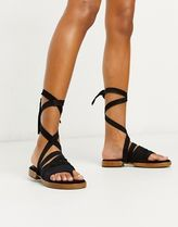 Free People Open Toe Casual Style Plain Elegant Style Sandals Sandal