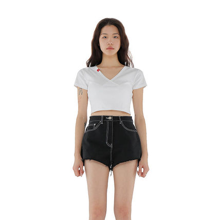 Short Short Sleeves Cropped