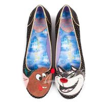 Irregular Choice Round Toe Casual Style Collaboration Other Animal Patterns