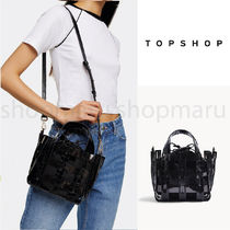 TOPSHOP Casual Style Street Style 2WAY Plain Party Style