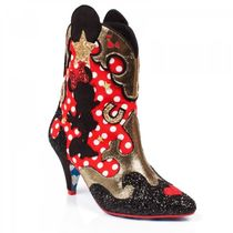 Irregular Choice Cowboy Boots Casual Style Collaboration High Heel Boots