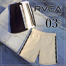 RVCA Plain Logo Shorts