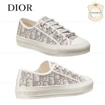Christian Dior DIOR OBLIQUE Casual Style Low-Top Sneakers