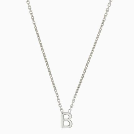 Costume Jewelry Casual Style Initial Party Style