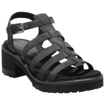 Timberland Rubber Sole Plain Leather Sandals Sandal