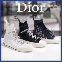 Christian Dior Plain Toe Casual Style Low-Top Sneakers