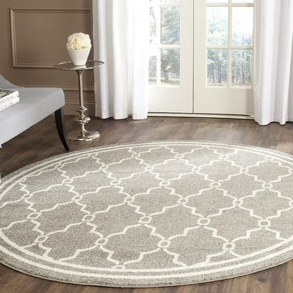 Round Kitchen Rugs Outdoor Mats & Rugs Geometric Patterns