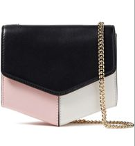 sandro Chain Leather Crossbody Logo Shoulder Bags