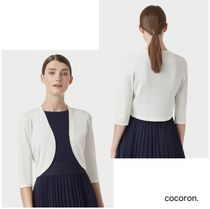 Hobbs London Short Cropped Plain Party Style Office Style Elegant Style