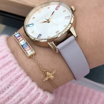 With Jewels Elegant Style Bridal Analog Watches