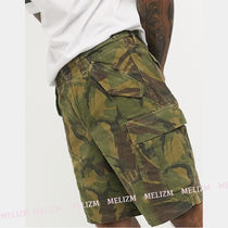 POLO RALPH LAUREN Camouflage Street Style Cotton Cargo Shorts