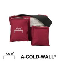 A-COLD-WALL Casual Style Street Style Crossbody Logo Shoulder Bags
