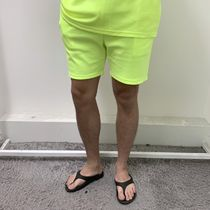 Unisex Plain Cotton Shorts