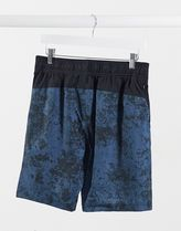 THE NORTH FACE Printed Pants Street Style Bi-color Logo Joggers Shorts