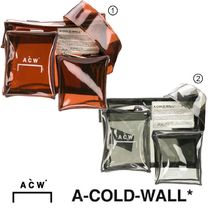 A-COLD-WALL Casual Style Street Style Crystal Clear Bags PVC Clothing