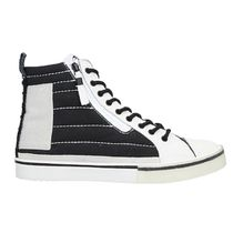 DIESEL Unisex Blended Fabrics Street Style Leather Logo Sneakers