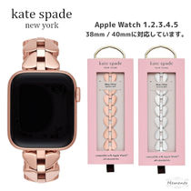 kate spade new york Casual Style Stainless Elegant Style Apple Watch Belt