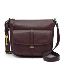 Fossil Casual Style Plain Office Style Elegant Style Shoulder Bags