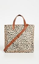 Madewell Leopard Patterns Casual Style Street Style Leather
