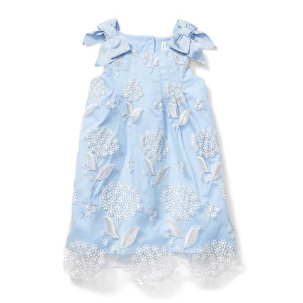 Blended Fabrics Street Style Bridal Kids Girl Dresses