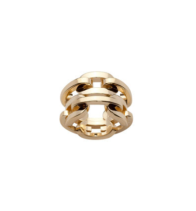 Casual Style 10K Gold Office Style Elegant Style Rings