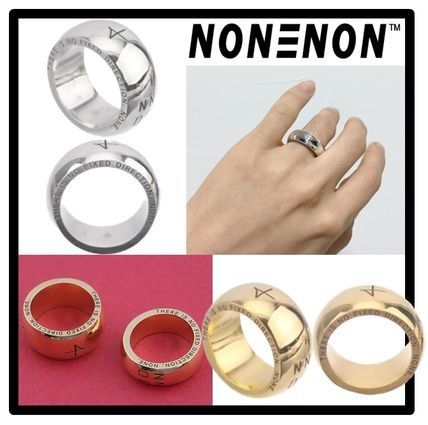 Casual Style Unisex Street Style Rings