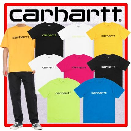 Carhartt More T-Shirts Unisex Street Style Cotton Short Sleeves T-Shirts