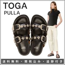 TOGA Platform Rubber Sole Casual Style Plain Party Style
