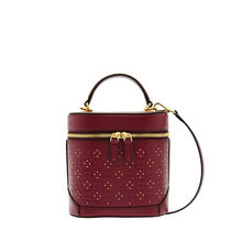 Louis Quatorze Star Dots Casual Style Studded Street Style Leather