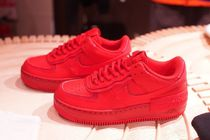 Nike AIR FORCE 1 Unisex Leather Sneakers