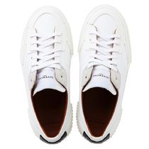 GIVENCHY Leather Logo Low-Top Sneakers