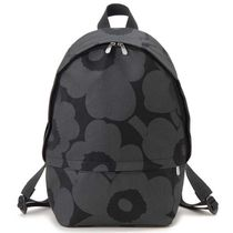 marimekko Flower Patterns Casual Style Backpacks