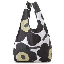 marimekko Flower Patterns Casual Style Unisex Totes