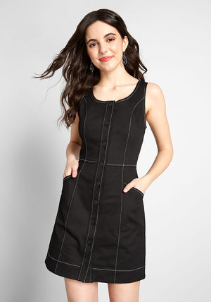 Short Casual Style Tight A-line Blended Fabrics Sleeveless