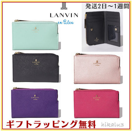 Logo Leather Card Holders