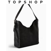 TOPSHOP Casual Style A4 Plain Office Style Handbags
