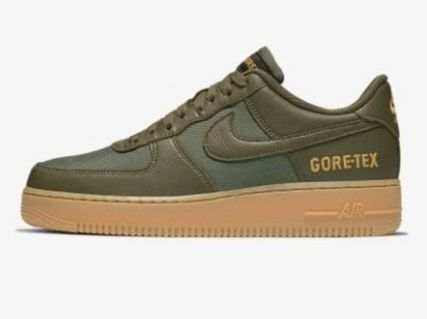 Nike AIR FORCE 1 Unisex Street Style Gore-Tex Sneakers