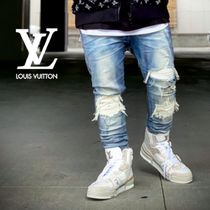 Louis Vuitton Bi-color Leather Sock Sneakers Logo Sneakers