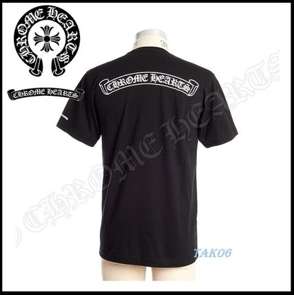 CHROME HEARTS More T-Shirts Street Style Logo T-Shirts