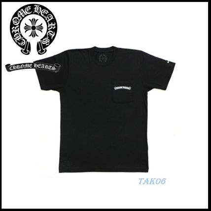 CHROME HEARTS More T-Shirts Street Style Logo T-Shirts 2