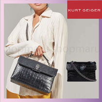 Kurt Geiger Casual Style Blended Fabrics Chain Other Animal Patterns