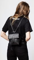 ZADIG & VOLTAIRE Plain Leather Backpacks