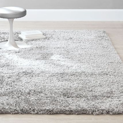 Unisex Plain Glitter Metallic Carpets & Rugs