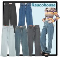 Raucohouse Unisex Street Style Jeans