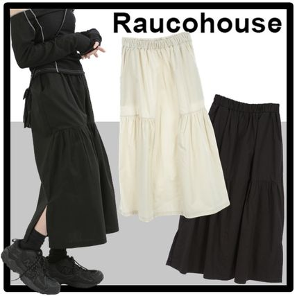Raucohouse Casual Style Street Style Skirts