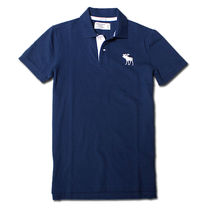 Abercrombie & Fitch Cotton Short Sleeves Surf Style Polos