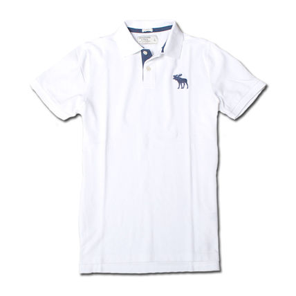 Cotton Short Sleeves Surf Style Polos